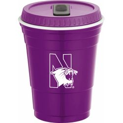 16 oz. Dishwasher-Safe Game Day Cup with Lid - Made of Durable, Odor Resistant Material