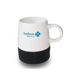 16 oz Ceramic Coffee Mug with Tire Tread Base