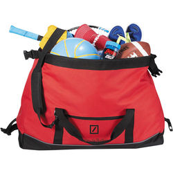 "26"" Polycanvas Duffel Bag with Size-Adjusting Clip"