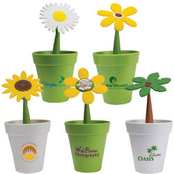 "Flower Pen in Recycled ""Flower Pot"""