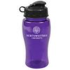 18 oz. Transparent Bottle with Flip Lid  (BPA-Free)