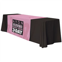 "Standard 57"" Wide Table RUNNER with All-Over Full-Color Dye Sublimated  Printing"