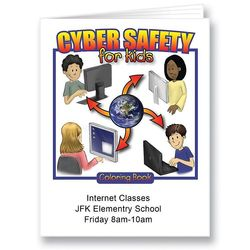 Cyber Safety Coloring Book