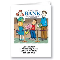A Visit to the Bank Coloring Book