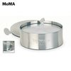 6 Stainless Steel Coasters Designed by MoMA