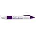 Bic&reg Wide Body Retractable with Color Rubber Grip Pen