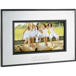 "7"" Aluminum Digital Photo Frame - 1GB"