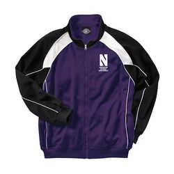 Men's Full-Zip Two-Tone Track Jacket