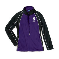 Ladies' Full-Zip Two-Tone Track Jacket