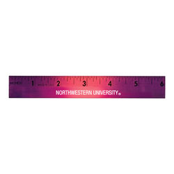 "6"" Mood Wood Ruler Changes Color by the Heat of Your Hand"