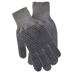 Men's Embroidered Gripper Gloves