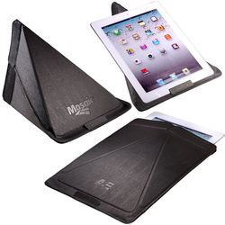Executive iPad Sleeve and Stand Doubles as an Executive Toy/Putting Cup