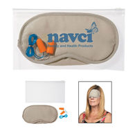 Ear Plugs And Eye Mask Set - A Great Gift for Frequent Travelers