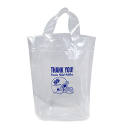 "Soft Loop Handle Bag - 12"" x 12"" - NFL Security Approved"