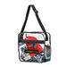 """12"""" x 12"""" Clear PVC Event Messenger Bag - NFL Security Approved"""