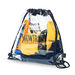 """12"""" x 12"""" Clear Drawstring Cinch Backpack - NFL Security Approved"""