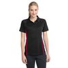 Ladies Micro-Mesh Colorblock Polo