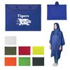 Reusable Adult Poncho with Printed Snap Carrying Pouch