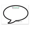 Dry Erase Decal (Ultra Removable) - Speech Bubble Shape - 8