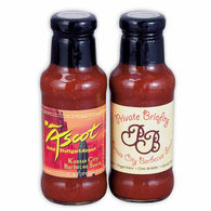 Gourmet Barbecue Sauce - Sweet Kansas City or Spicy New Orleans Flavors