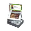 Silver or Gold Business Card Box with Truffles - Just Insert Your own Business Card