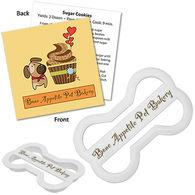 Plastic Dog Bone Cookie Cutter