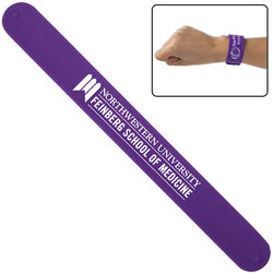 Silicone Slap Bracelet - 9 Colors to Choose From