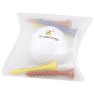 Economical 1-Ball Pack with One Titleist® DT Golf Ball and 6 Tees