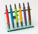 Stylus Pen Wrapped in Rich Italian Synthetic Leather (in 30 colors!) (Dual Tips)