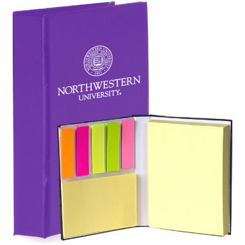 Sticky Book with Three Different Sized Sticky Pads