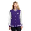 Ladies'  Fleece Letterman Jacket