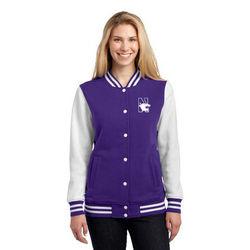 Ladies'  Fleece Letterman Jacket