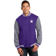 Men's  Sweatshirt Letterman Jacket