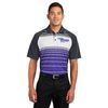 Mens' Dry Zone Sublimated Stripe Polo