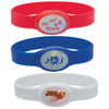 Light-Up Silicone Wristband - Flashes in Alternating Colors with On/Off Switch