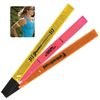 Neon Reflective Safety ARM BANDS Snap on for Greater Visibility in the Dark