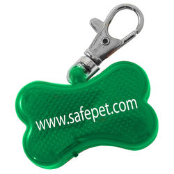 Keep Your Best Friend Safe - The Dog Bone Strobe Clip Light Makes Your Pet More Visible at Night