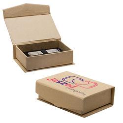 USB Flash Drive Kraft Gift Box