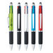 Stylus Pen with 4 Writing Ink Colors