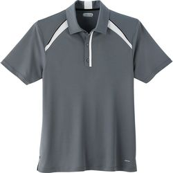 Quick Ship MEN'S Wicking Polo with Athletic Detailing