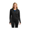 Ladies' Moisture-Wicking Fitness Full-Zip Pullover