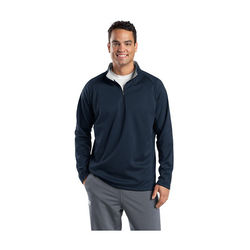 Unisex 1/4 Zip Wicking Fleece Sweatshirt