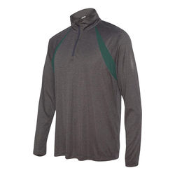 Men's Quarter Zip Lightweight Pullover with Inserts