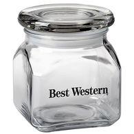 10 oz Contemporary Glass Jar - Empty