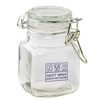 3 oz Glass Hinge Top Jar - Empty