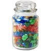 26 oz Round Glass Jar Filled with Hard Candy