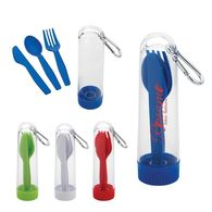 3 Piece Utensil Kit with Carabiner - Perfect For Your Outdoor Event