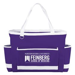 "12.5"" x 17"" Carry-All PolyCanvas Tote Perfect for Game Day"