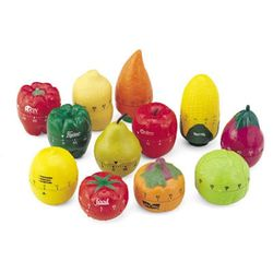Food Shaped 60 Minute Kitchen Timer - Choose from One of 15 Shapes