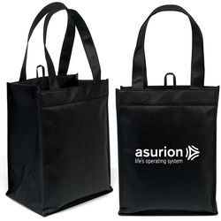 "10"" x 13""  Non-Woven Compartment Tote with 18"" Handles"
